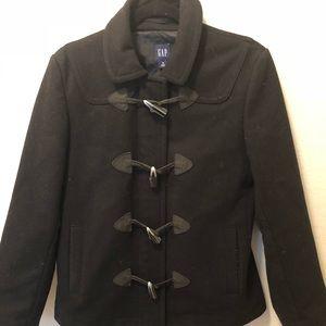 GAP Wool Peacoat BLACK Size Medium